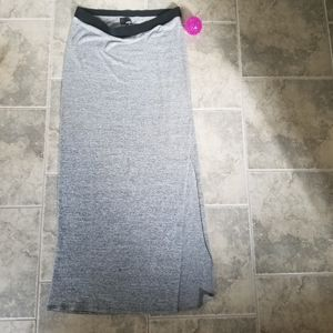 WILFRED Long slit skirt - size L.